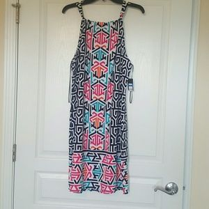 crown & ivy Dresses - New w/tag multi color dress very soft.